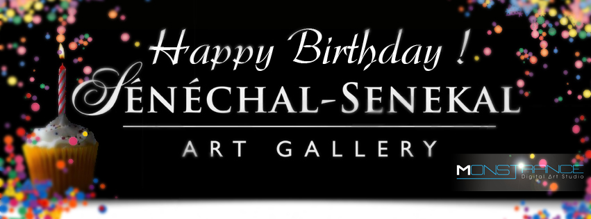 Sénéchal-Senekal Art Gallery Facebook Birthday Banner